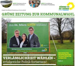 Wahlkampfzeitung Kommunalwahl 2016